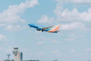 Southwest Airlines Plane Departure